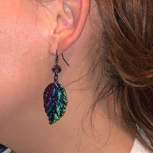 Leaf Earrings 🍃